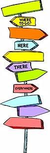 Eureka Dr. Seuss Blank Directional Si…