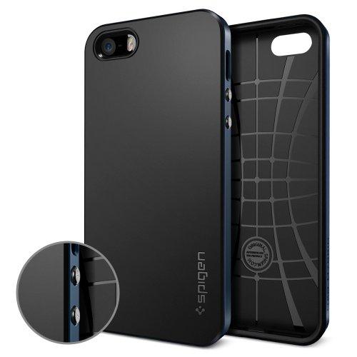 国内正規品SPIGEN SGP iPhone5/5S ケース ネオ・ハイブリッド [メタル・スレート]SGP10360