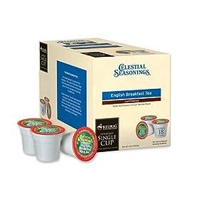 Keurig K-Cup Coffees & Teas Celestial Seasonings English Breakfast K-Cups 18-pc.: Kitchen & Dining