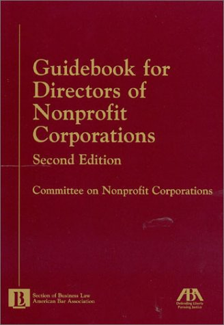 Guidebook for Directors of Nonprofit Corporations