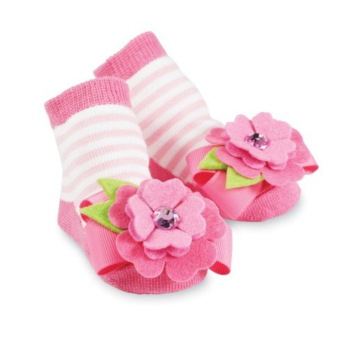 Baby Sock Flowers front-1055536