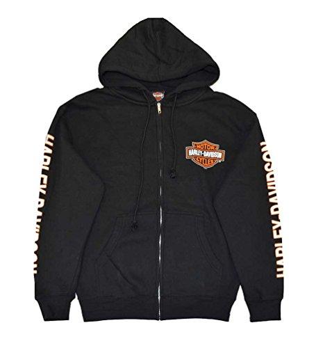 harley-davidson-mens-hooded-sweatshirt-bar-shield-zip-black-30299142-2xl
