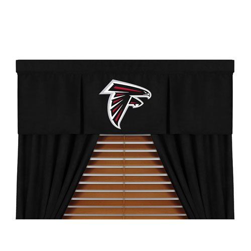 "Atlanta Falcons NFL ""MVP"" Collection Bed Drape Set(82""x84"") at Amazon.com"