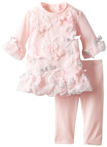 Review: Biscotti Baby-Girls Newborn Take A Twirl Tunic and Legging, Pink, 9 Months  Best Offer