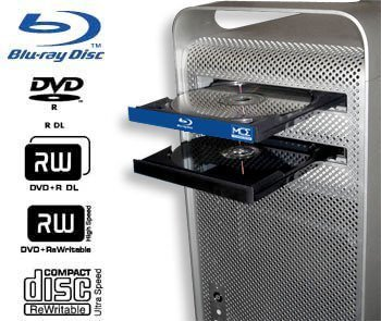 Mac Pro Blu-ray Drive: Internal Blu-ray Burner, Writer, Player for Apple Mac Pro Tower (Early 2009 thru Mid 2012) with Mac Blu-ray Player software!