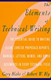 The Elements of Technical Writing (0020130856) by Gary Blake