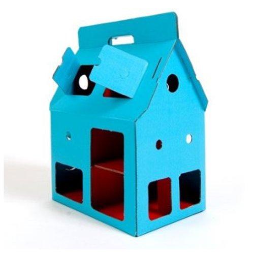 Kidsonroof Cardboard Mobile House