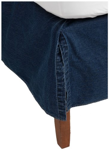 Tommy Hilfiger Bed Skirt, All American Denim Collection, Queen