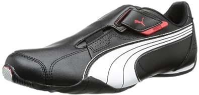 Puma Redon Move, Unisex-Erwachsene Sneakers, Schwarz (black-white-high risk red 02), 36 EU (3.5 Erwachsene UK)
