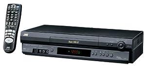 JVC HRS5902U 4-Head Hi-Fi VCR, Black