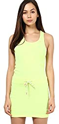 Only Women'S Casual Dress (_5712063919520_Neon Yellow_X-Small_)