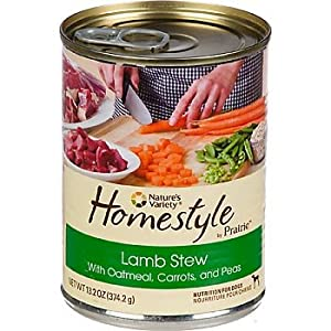Nature's Variety Homestyle by Prairie Lamb Stew Canned Dog Food, Case of 12