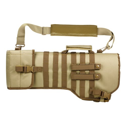 VISM CVRSCB2919T Tactical Rifle Scabbard/tan