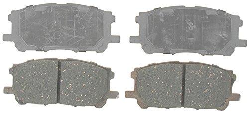 Acdelco 14D1005C Advantage Ceramic Front Disc Brake Pad Set front-619807