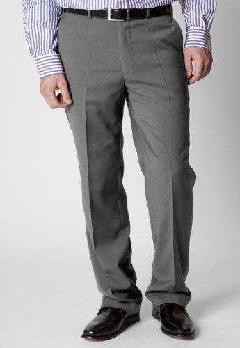 Brook Taverner Woking Trousers in Lt Grey 32R