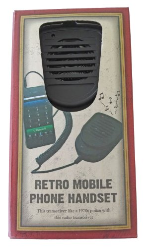 Retro Cb Radio Transceiver Handset For Iphone, Samsung, And Most Smart Phones