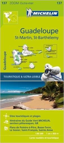 Michelin Guadeloupe Map 137 (Michelin Map)