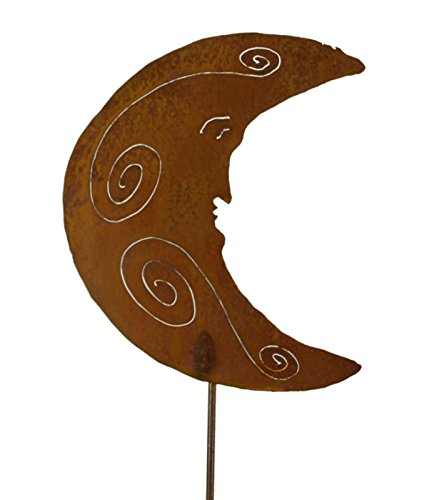 Man on the Moon Garden Stake