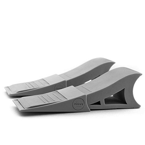 t r stopper 2 st ck rutschfeste gummi keil modernes. Black Bedroom Furniture Sets. Home Design Ideas
