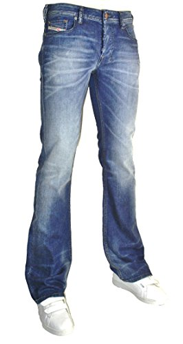 Diesel Jeans uomo Stretch BootCut Zathan 0831D blu