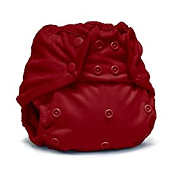 Rumparooz One Size Cloth Diaper Cover Snap, Scarlet