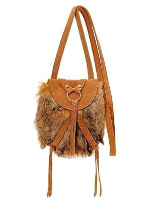 Lucky Brand Taluca Lake Mini Faux Fur Crossbody Swing Bag