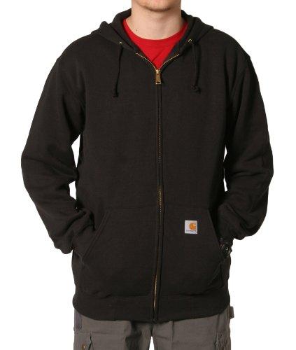 Carhartt K122 Midweight Sweatshirt Black Mens Hoodie Top