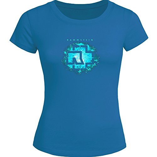 Classic Rammstein Logo For Ladies Womens T-shirt Tee Outlet