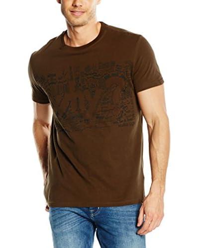 Desigual T-Shirt Manica Corta Andre [Marrone]