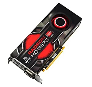 XFX ATI Radeon HD6870 1 GB DDR5 2DVI/HDMI/2x Mini DisplayPort PCI-Express Video Card HD687AZNFC