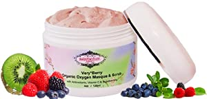 Very*Berry Organic Oxygen Masque & Scrub with Antioxidants, Vitamin C & Superberries -  from Sweetsation Therapy
