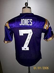 Bert Jones Signed Jersey - T b Lsu Tigers 76 Mvp - Autographed NFL Jerseys by Sports+Memorabilia