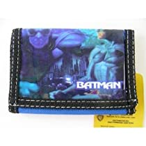 Dc Comic Batman Wallet - Batman Kid Trifold Wallet