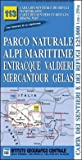 Carta n. 113 Parco naturale Alpi Marittime, Entracque, Valdieri, Mercantour, Gelas 1