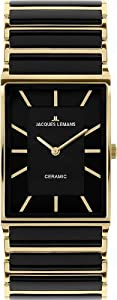 Jacques Lemans Women's 1-1594D York Classic Analog with HighTech Ceramic and Sapphire Glass Coating Watch
