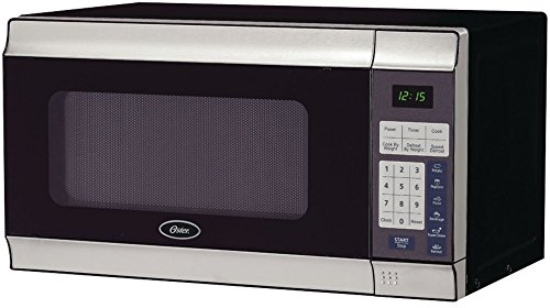 Oster - .7 Cubic-Ft, 700-Watt Countertop Microwave *** Product Description: Oster - .7 Cubic-Ft, 700-Watt Countertop Microwave .7 Cu-Ft Capacity 700W 10 Adjustable Power Levels 1-Touch Cook Settings For Potato, Popcorn, Pizza, Beverage, Frozen Di ***