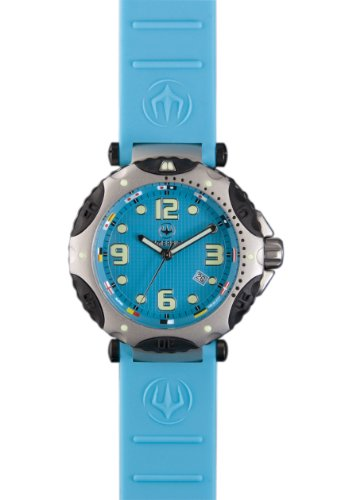Immersion IM7203 Gents Watch Quartz Analogue Blue Dial Blue Silicone Strap