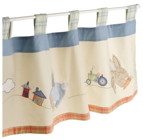 Sumersault Hippity Hop Valance (Discontinued by Manufacturer)