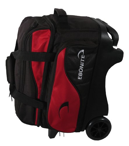 Buy Ebonite Voyager 2 Ball Roller Bowling Bag- Red 1196253
