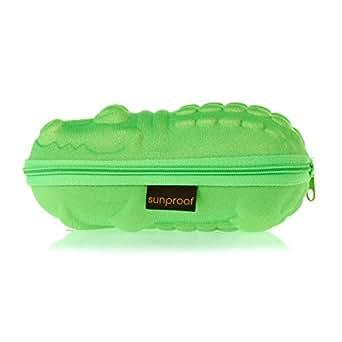 BAN0202/CROC - Banz Crocodile Sunglasses Case Green