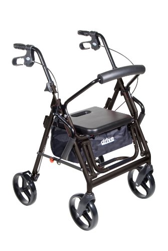 Duet Transport Wheelchair Chair Rollator Walker Black Reviews