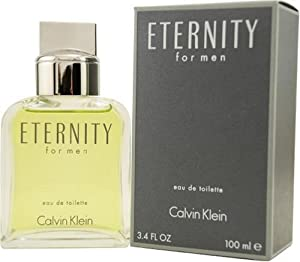Eternity by Calvin Klein for Men, Eau De Toilette Spray, 3.4 Ounce