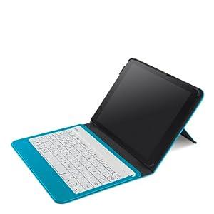 Belkin QODE Slim Style Keyboard Case for iPad Air - Topaz (F5L152ttC05) by Belkin Components