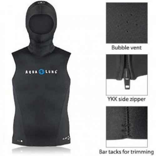 Aqua Lung 4/6mm Seavest Mens Large For Scuba Diving (Hooded Vest Scuba compare prices)