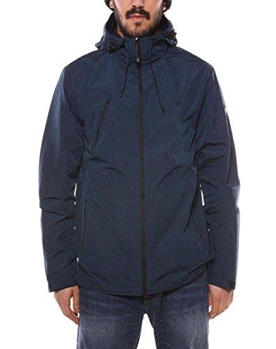 original-penguin-herren-melange-logo-hooded-sports-jacket-blau-small