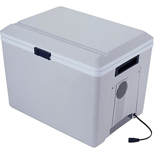 Electric 36 Qt Travel Cooler W/ Heat 12 Volt Compact Outdoor Car Chest Fridge