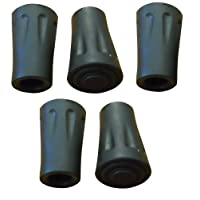 BAFX Products (TM) - Pack of 5 - Hiking Pole Replacement Tips - For BAFX Products Hiking Poles