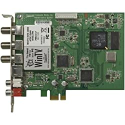 Hauppauge WinTV-HVR-1850 MC-Kit Hybrid Video Recorder. WINTV-HVR-1800 MC KIT TV TUNER PCIE NTSC/ATSC/QAM HD W/MC REMOTE C-CARD. PCI Express x1 - ATSC, NTSC