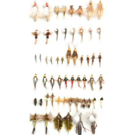 Umpqua  Southern Rockies Trout Guide Fly Selection
