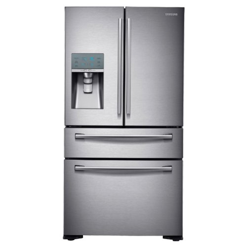 Samsung RF24FSEDBSR Stainless Steel Counter Depth 4-Door Refrigerator, 24 Cubic Feet (4 Door Samsung Refrigerator compare prices)